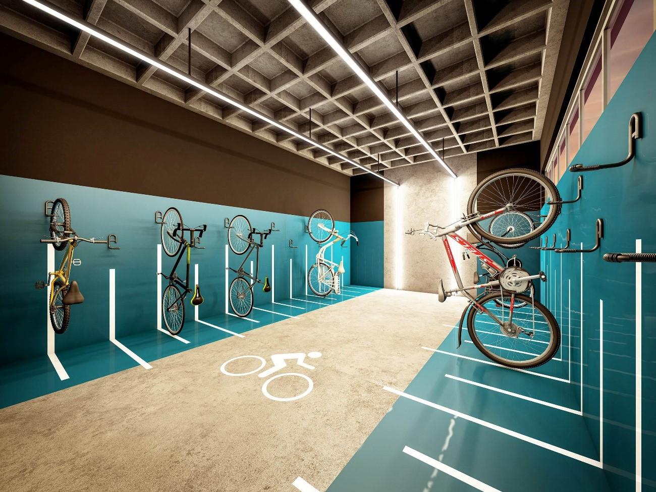 bicicleta compartilhada - equipamentos compartilhados
